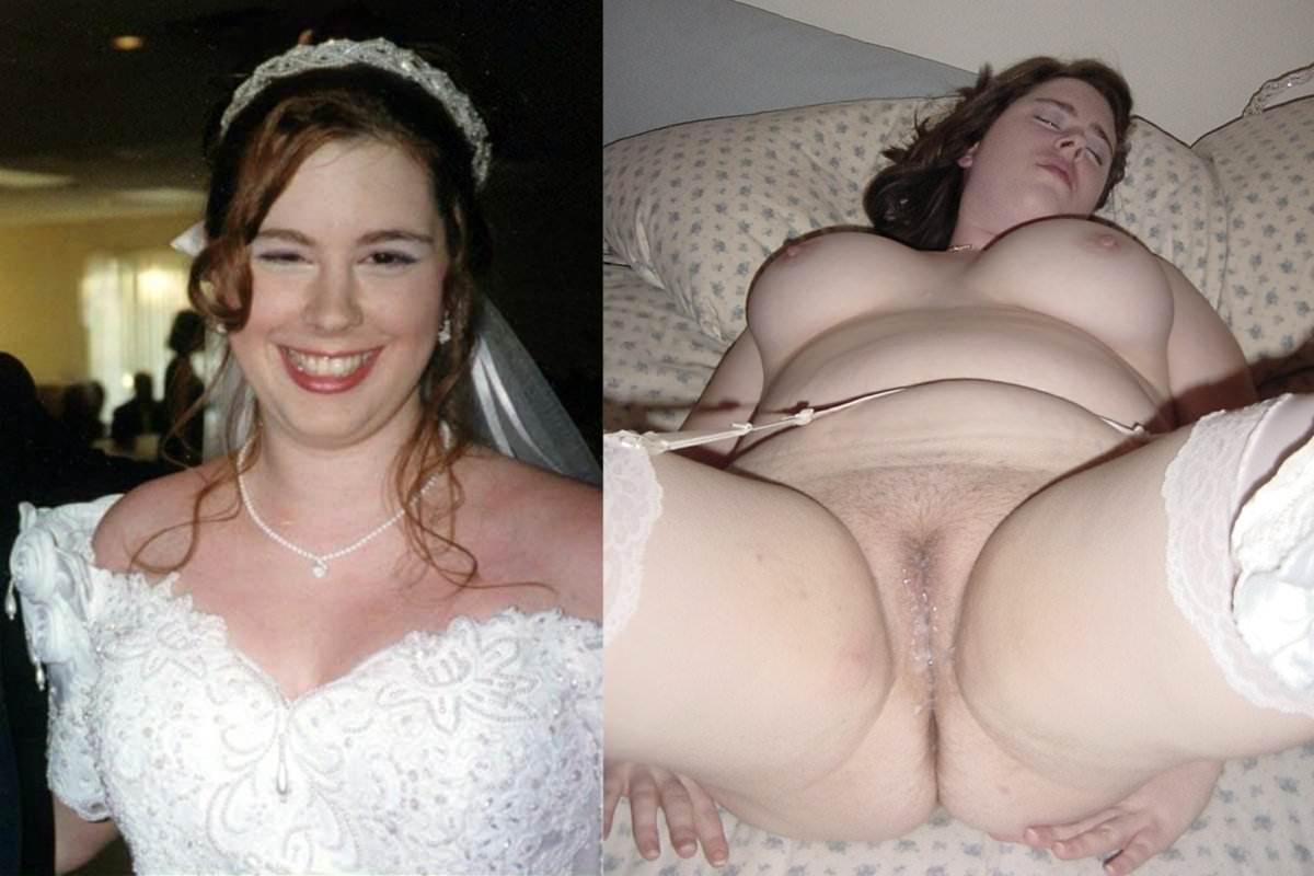 Image 6: Photos de femme en robe de mariee et nue