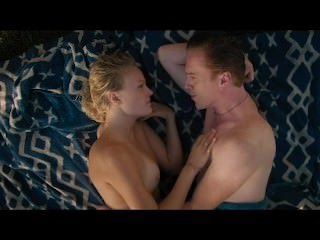 Malin Akerman wet tits in a sex scene