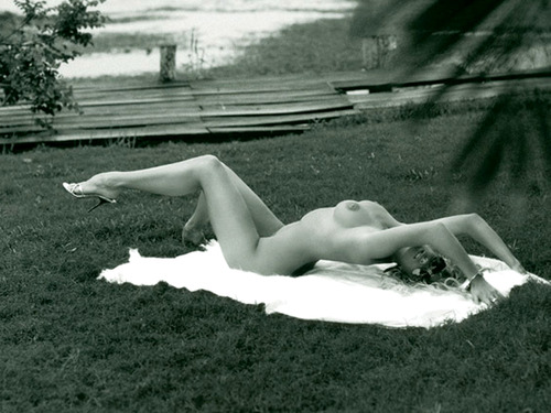 Image 8: Rachel Hunter nue pour Playboy
