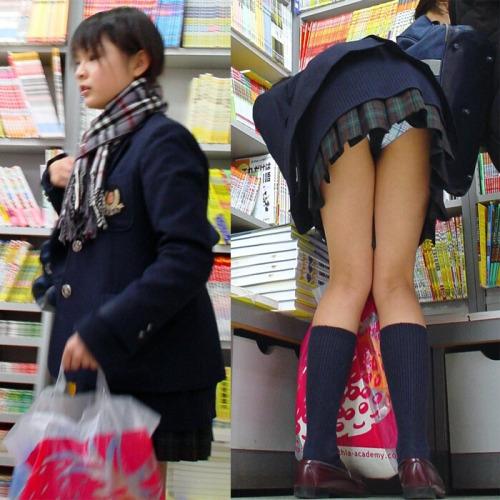 Image 3: Voir sous les jupes des filles japonaises dans la rue