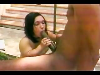 Huge Black Cock Destroys Midget