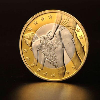 Image 1: Exclusivite La nouvelle piece sexy d un euro