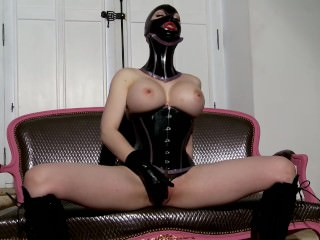 Latex Lucy the British Dominatrix 1 Best Of - Scene 5