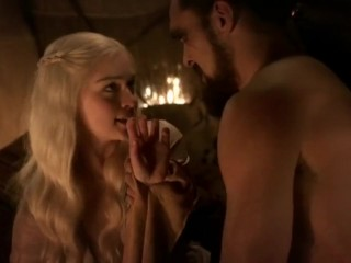 Image 1: Les scenes de sexe d Emilia Clarke dans Game of Thrones