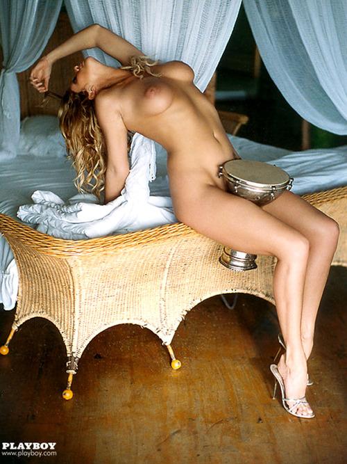 Image 4: Rachel Hunter nue pour Playboy