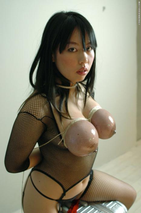 Image 1: bondage des seins pour cette fille asiatique