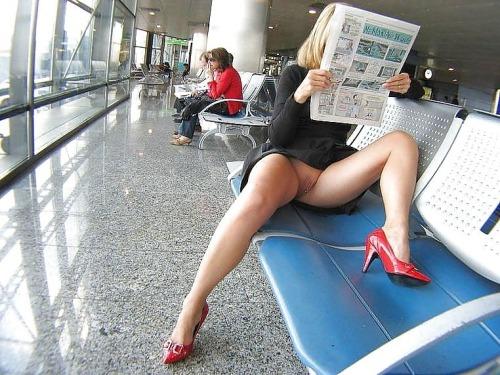 Upskirt Airport 71