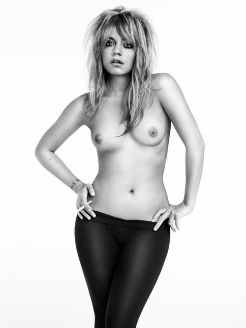 Image 1: Les seins de Lily Allen me font bander
