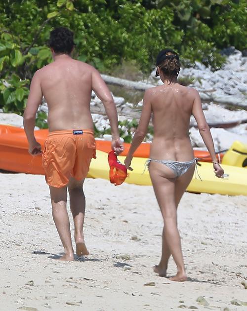 Image 6: La suite des photos topless d Heidi Klum