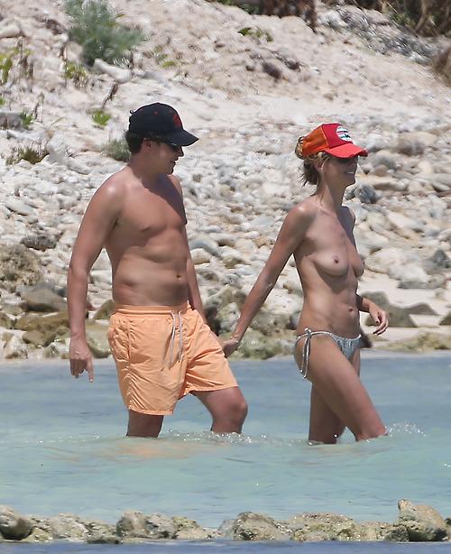 Image 3: La suite des photos topless d Heidi Klum