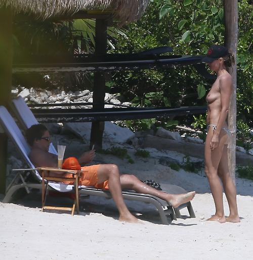 Image 8: La suite des photos topless d Heidi Klum
