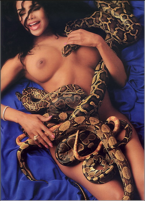 Image 1: LaToya Jackson topless