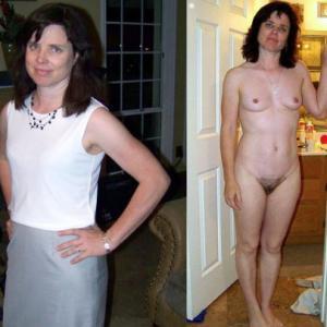 Vous préférez ma femme nue ou habil...