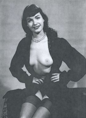 Photos de Bettie Page nue