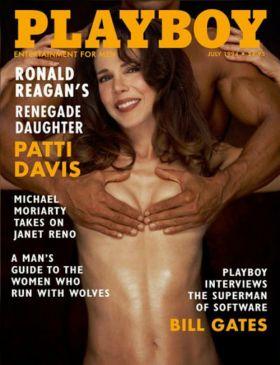 Patti Davis nue   La soeur de Ronald Reagan nue dans playboy