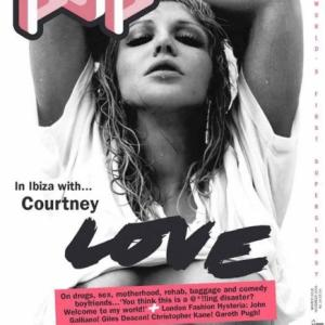 Courtney Love nue