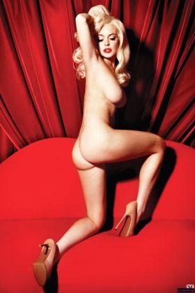 Superbe photo de Lindsay Lohan nue