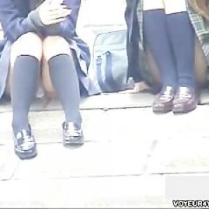 Ces etudiantes japonaises s'exhiben...