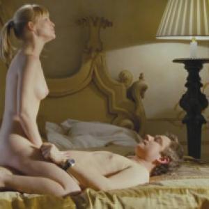 Joanna Page nue dans Love Actually