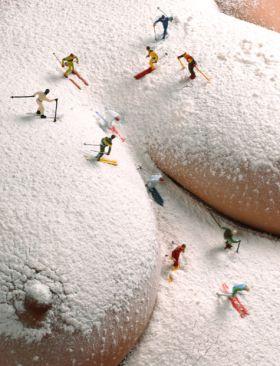 Mon corps est une piste de ski
