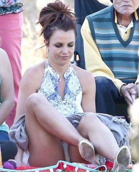Sous la jupe de Britney Spears