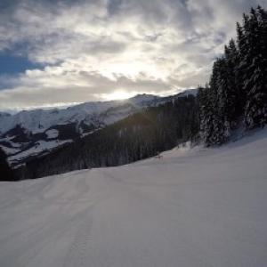 Vidéo exhib à la montagne: Vic Alou...